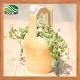 Creative Bucket Style Bamboo Flower Pot