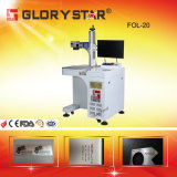 Aluminium Oxide Black Color Fiber Laser Marking Machine
