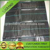 Green and Black Weed Mat with Green Line