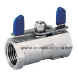 1 PC Butterfly Type Ball Valve CF8