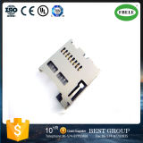 Normally Open Push Type TF Card Connector