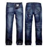 Factory OEM Cheap Jeans Men Slim Fit Blue Jeans