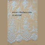 Ivory Rayon Fabric for Wedding Dress Lace in Guangzhou Vl-60102bc