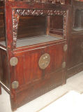 Chinese Antique Wooden Carved Cabinet Lwa235