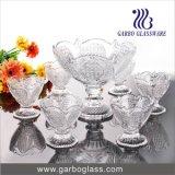 Luna Glass Bowl Set, 7PCS Footed Sweet Bowl Set, Ice Cream Bowl Set