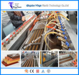 Low Energy Consumption WPC Profile Production Line, WPC Extrusion Machine for Fence