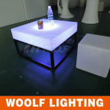 White Plastic Modern LED Illuminated Furniture