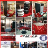 Store Retail TV Floor Mesh Work Banner Display Exhibition Stainless Steel Sheet Metal Stand (shoes, supermaket, cloth, umbrella, laptop, book, valet)