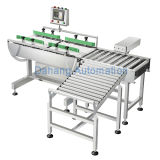 Online Check Weigher with Automatic Rejecting System
