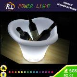Rechargeable Bar Furniture Illuminated LED Ice Bucket