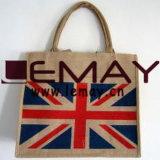 Best Selling 100% Natural Jute Beach Bag Custom Burlap Tote Bag