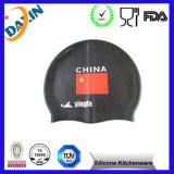 with Custom Logo Factory Direct Eco-Friendly Silicone Swimming Cap
