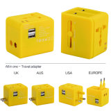 Newest Au/Us/UK/South Africa Plug Travel Universal Adapter for Worldwide Use