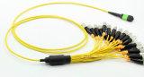 MPO Singlemode Fiber Optical Cable for Fiber Integration