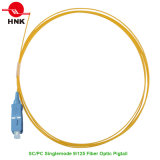 Singlemode 9/125 Sc PC PVC/LSZH Jacket Fiber Optic Pigtail