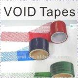 Colorful Tamper Proof Warranty Void Tape