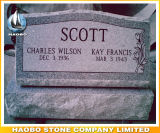 American Style Slant Headstones with Base