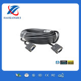 High Speed 10m 3+4/3+5 Long VGA Cable with 2 Ferrites