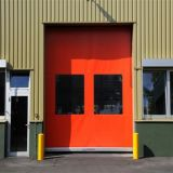 PVC Curtain High Speed Rolling Door (HF-1102)