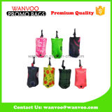 Promotional Foldable Polyester Shopping Bag with Hook