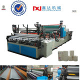 Automatic Industrial Lamination Tissue Paper Embossed Gluing Kitchen Towel Roll Rewinder