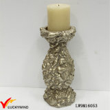 Resin Antique Pillar Candle Holder for Wedding