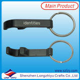 Black Keychain Bottle Opener with Your Logo