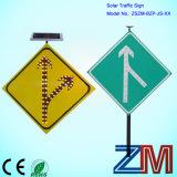 Durable Aluminum Solar Traffic Sign / LED Road Sign / Warning Sign