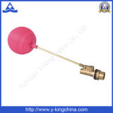 Brass Float Ball Valve with Brass Stem Plastic Ball (YD-3016)
