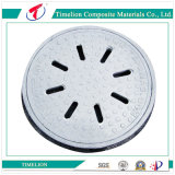 SGS Vented Fiberglass Reinforced Plastic FRP Manhole Cover