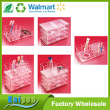 Clear Makeup Case Drawers Cosmetic Jewelry Storage Acrylic Cabinet Box