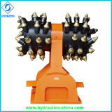 Hydraulic Rotary Drum Grinder Customized for Excavator