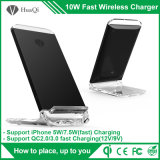 Newest Phone Accessory Wireless Charger with Qi Standard for iPhone 8/8 Plus/X