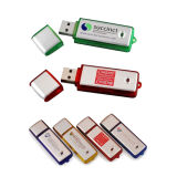 Plastic Custom Logo Business Gift USB Flash Drive