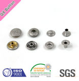 Shiny Logo Engraved Silver Snap Buttons for Garments Accessories