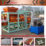 Shengya Brand Qt6-15A Fully Automatic Hydroform Concrete Hollow/Paver Block Machine Full Production Line