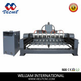 8 Spindle CNC Router with Rotary Axis (R Series VCT-2512R-8H)