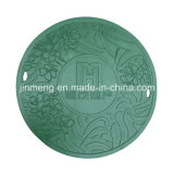 Round Composite SMC Manhole Cover Material with S. S Screw