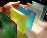 6.38mm, 8.38mm, 1038mm, 12.38mm, 16.38mm Color and Color Safety Laminated Glass for Building