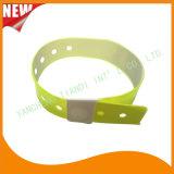 High Quality Entertainment ID Bracelets Vinyl Plastic Wristbands (E6070-20-4)