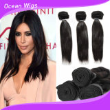 Straight 100% Human Malaysian Virgin Remy Hair Extension/Weft