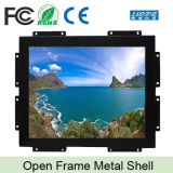 "Metal Case 15"" Inch LCD Touch Open Frame Monitor"
