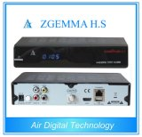 Full Channels High-Tech Zgemma H. S Satellite TV Receiver High CPU Linux OS DVB-S One Tuner