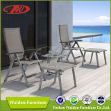 Recliner with Footrest, Cozy Outdoor Garden Folding Chairs