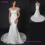 W18580 Wholesale Wedding Gowns 2017 Bridal Lace Sheer Sexy Prom Dress