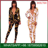 Fashion Woman Sexy Deep V Neck Jumpsuit Club Party