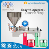 Double Nozzles Liquid Filler with Filling Machine Piston