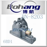 Bonai Engine Spare Part Isuzu 6bd1 Oil Thermostat Housing Bn-8203