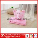 Ce Plush Elephant Toy Cushion with Blanket