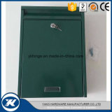 Green Color Galvanized Steel Wall Mounted Apartment Mailbox